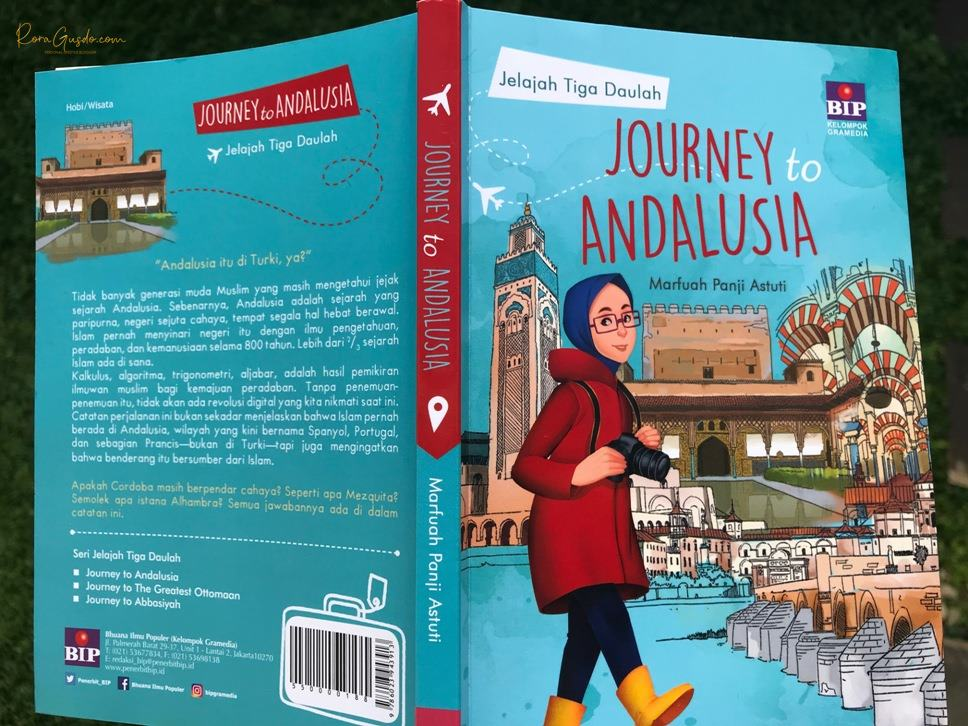 Buku Journey to Andalusia