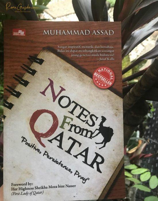 Buku Notes from Qatar