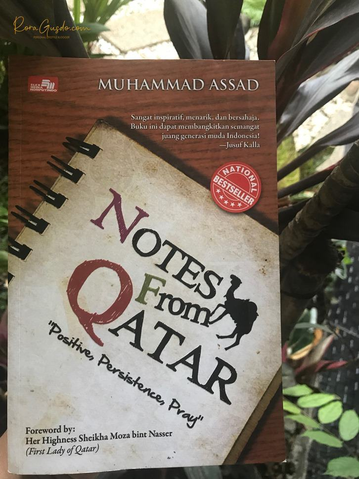 Buku Notes from Qatar