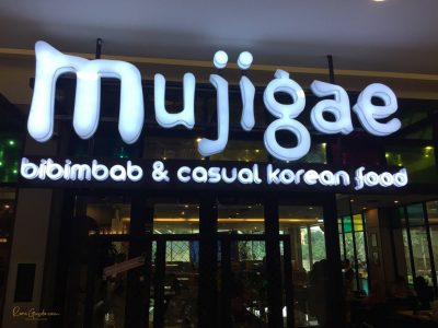 Review Restoran Korea Mujigae