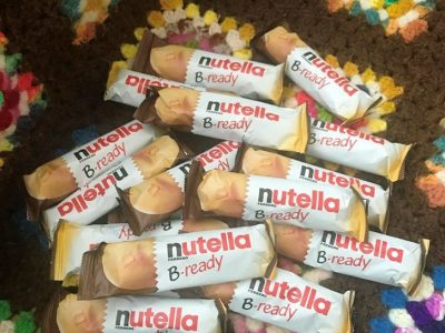 Coklat Nutella B Ready