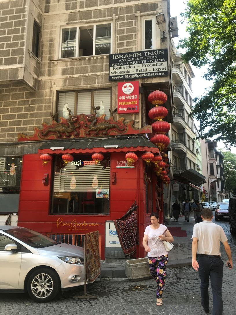 Chang Cheng Restaurant Istanbul