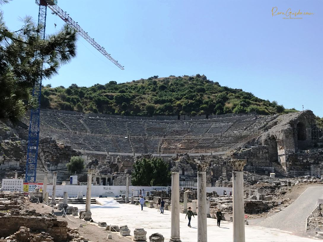 Grand Theater Ephesus Turki