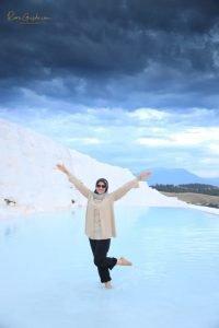 Pamukkale, Indahnya Istana Kapas Seputih Salju