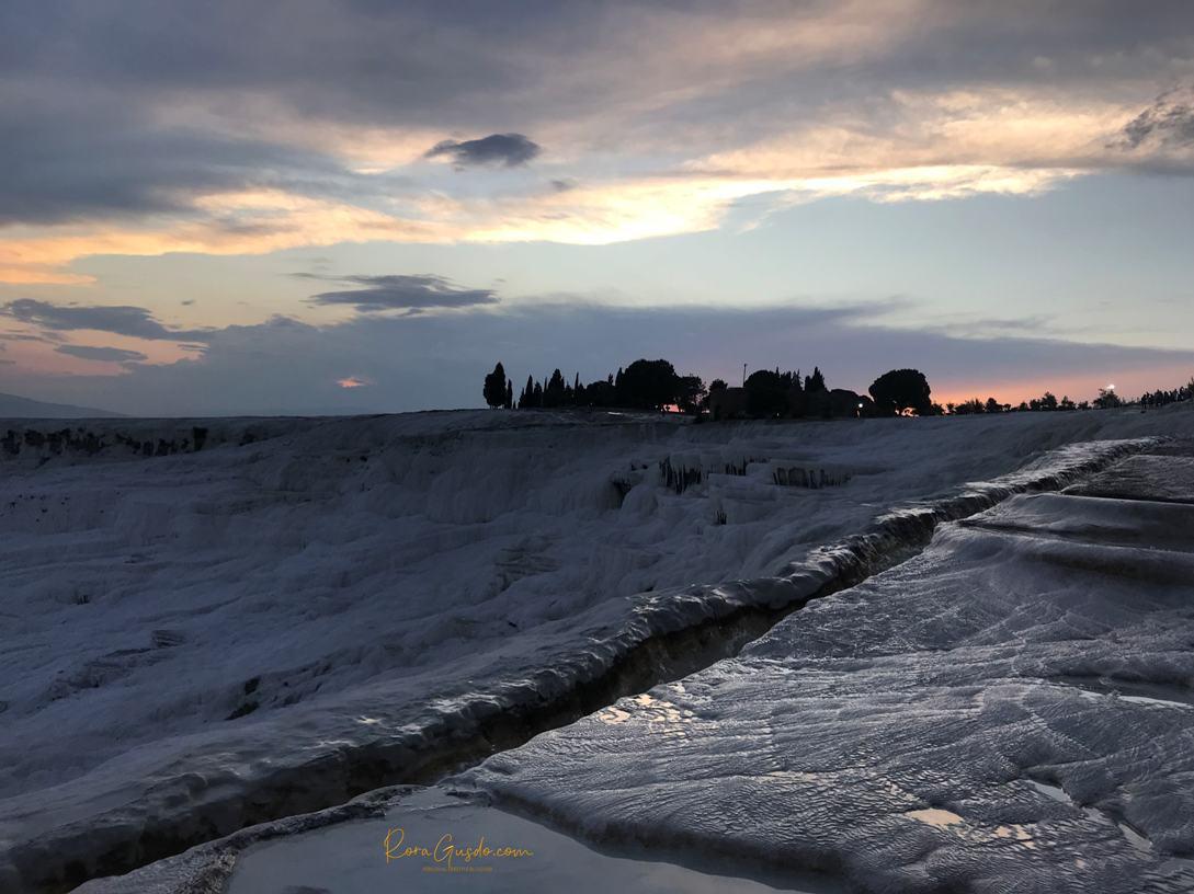 Sunset di Pamukkale
