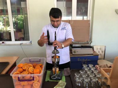 Fresh Orange Juice di Turki