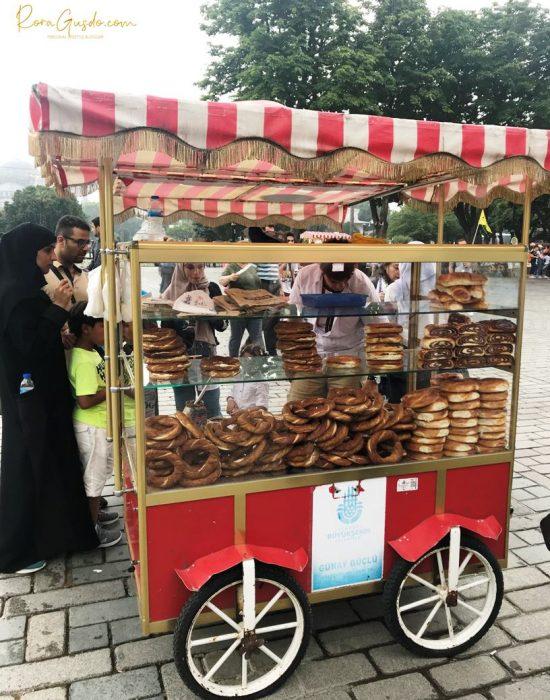 Roti Simit Khas Turki